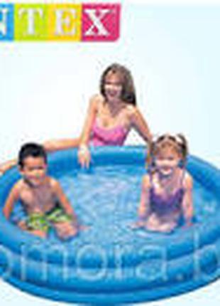 Детский надувной бассейн «Синий кристалл» Intex 58426 (147*33 см