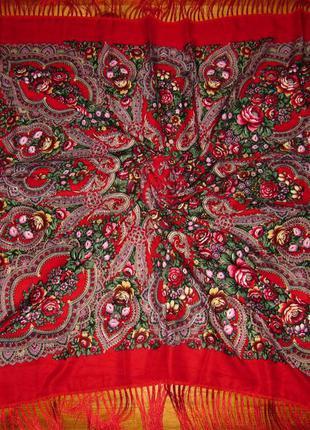 Хустка українська червона, платок