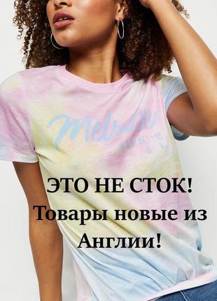 New look. это не сток! товар из англии. футболка в дизайне tie...