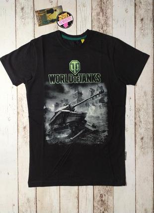Футболка мужская world of tanks танки рисунок светится в темноте