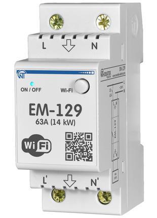 WI-FI Счетчик электроэнергии с функцией защиты и управления ЕМ129