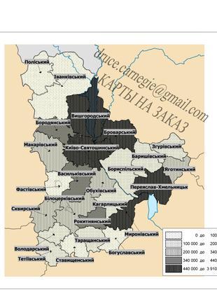 Тематические карты на заказ в MapInfo