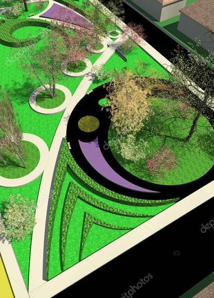 Сделаю план-схему для вашего сада (заказ удобство, продуктивно...