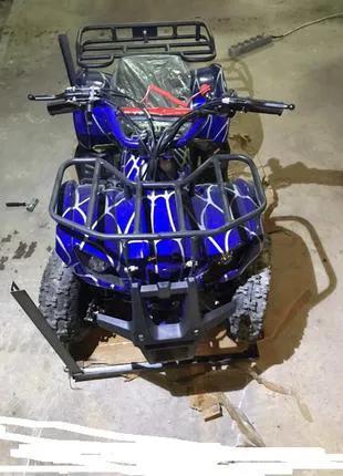 Квадроцикл детский бензиновый Bashan Hummer 49. 3-8 лет. С электр