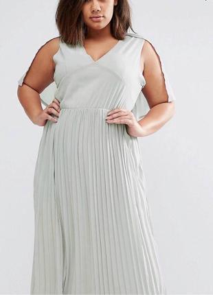 Трендовое платье в пол asos🌸