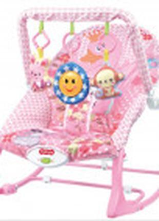 Детский шезлонг-качалка 68127 Код товара: 68127