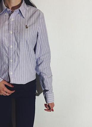Женская рубашка ralph lauren sport slim fit
