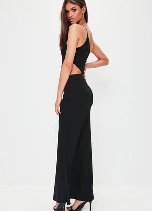 Длинное вечернее платье с разрезом missguided