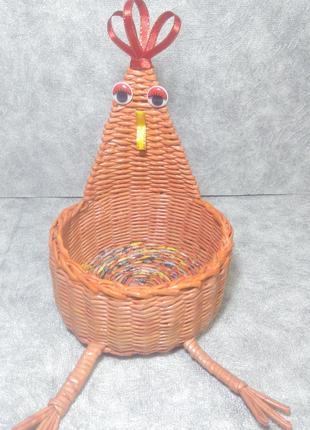 Курочка шкатулка декор (ручная работа)