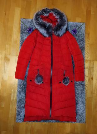 Женский пуховик, женское зимнее пальто, супер теплая, ветрозащ...