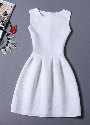 Вечернее летнее стильное женское однотонное платье-жилет корот...