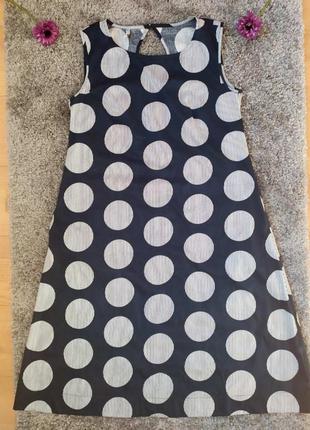 Длинный сарафан, платье в горошек 👗