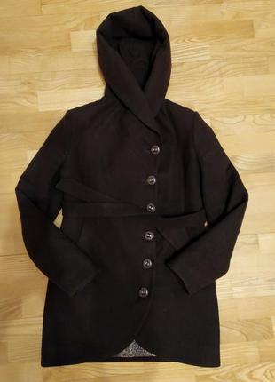 Шерстяное пальто на весну/осень