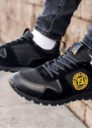 Мужские кроссовки Fendi