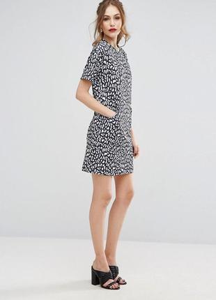 Легкое летнее платье с карманами warehouse 🖤