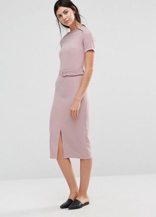 Классическое платье прямого кроя от alter tall