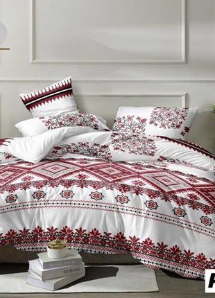 Двухспальной комплект постельного белья из ранфорса пакистан