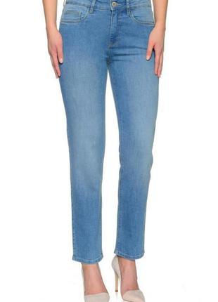 Мом джинсы  высокая посадка бойфренды slim stooker