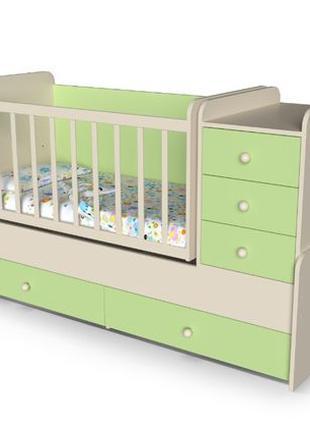 """Детская кровать - трансформер """"Шоколадка"""" От производителя"""