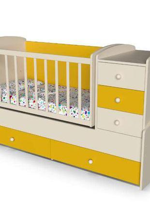Детская кровать-трансформер «Радуга» От производителя!!!