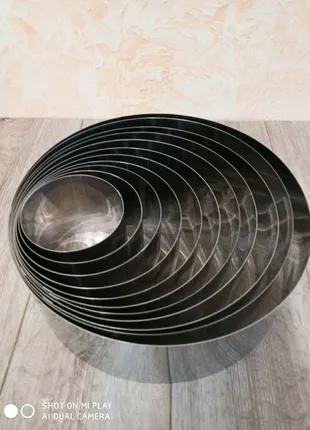 Кондитерские кольца,формы для тортов