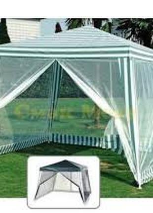 Палатка для откачки мёда, садовый павильон