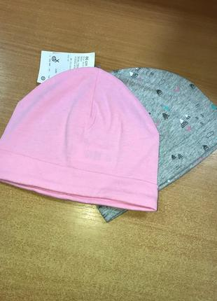 Набор трикотажных шапочек baby club