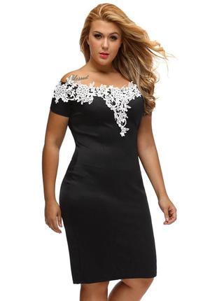 Платье карандаш. чёрное платье миди