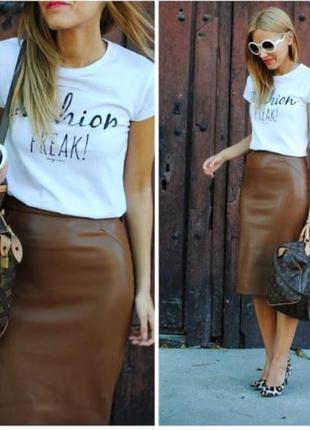 Германия!vip!шикарная юбка из 100 % мягенькой кожи/юбка кожана...