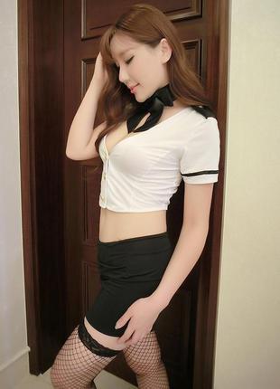 Эротический игровой костюм стюардесса арт. 550