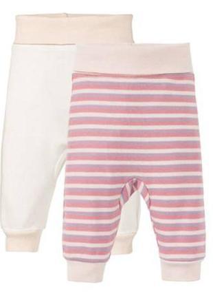 2 шт комплект, штаны, ползунки малышам 62-68, 74-80 lupilu, ге...