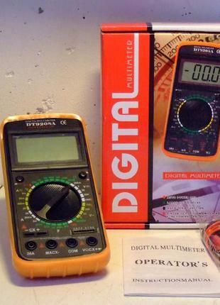 Мультиметр цифровой DT-9208А