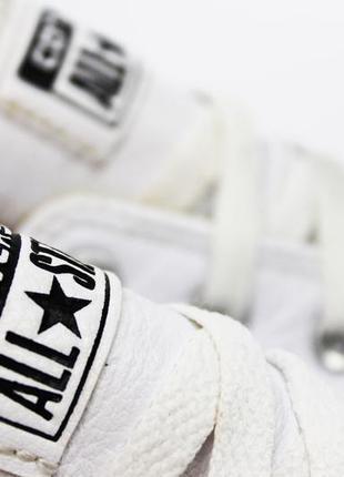 Белые кожаные кеды converse all star оригинал 35.5 (22.5 см) к...