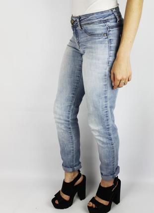 Легкие джинсы светло синие штаны  tally weijl