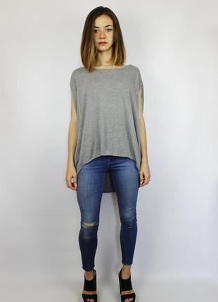 Стильная футболка без рукавов свободного фасона oversize cos