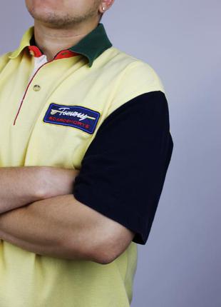 Супер эксклюзивная поло футболка tommy hilfiger из линейки sur...