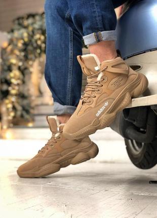 Шикарные мужские зимние кроссовки adidas yeezy 500 high fur 😍 ...