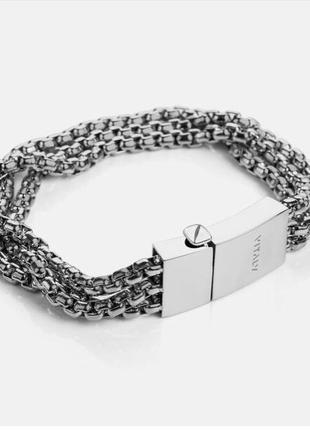 Идеальный декорированный мужской браслет