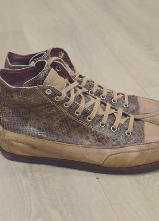 Candice cooper женские кожаные кеды кроссовки оригинал ручная ...