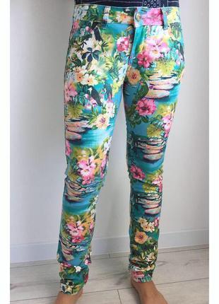 Брюки, штани, разноцветные брюки.