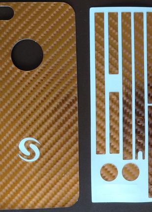 Виниловая наклейка для Apple iPhone 5/5S, комплект+боковая сто...