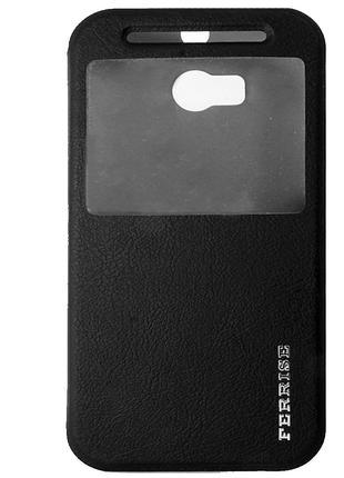 Чехол-книжка для HTC One M8, Кожанный с полиуретаном, Ferrise,...
