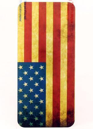 Виниловая наклейка для iPhone 5/5S, ITOP, комплект, флаг США, ...