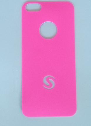 Виниловая наклейка прорезиненная для Apple iPhone 5/5S, компле...