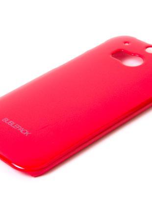 Чехол-накладка для HTC One 2, M8, пластиковый, Buble Pack, Мал...