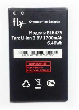 Аккумулятор FLY BL6425 FS454 1700mAh, Original /АКБ/Батарея/Ба...