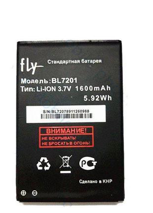 Аккумулятор FLY BL7201 IQ445 1600mAh, Original /АКБ/Батарея/Ба...