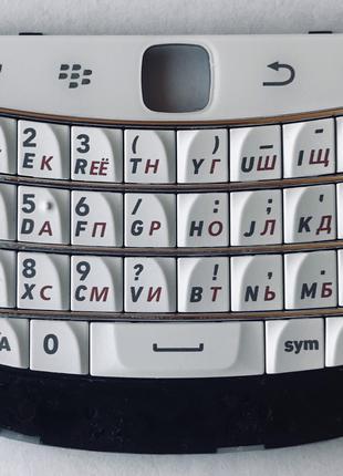 Оригинальная Клавиатура BlackBerry 9900 Bold, White, (Кириллиц...