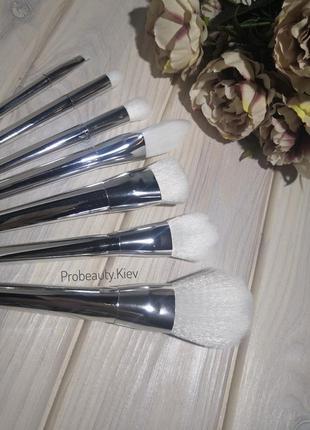 7 шт набор кистей для макияжа silver probeauty