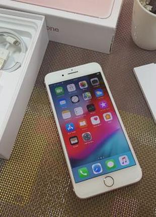 Apple iPhone 7 PLUS 32Gb. Rose Gold ( neverlock ) магазин iPho...